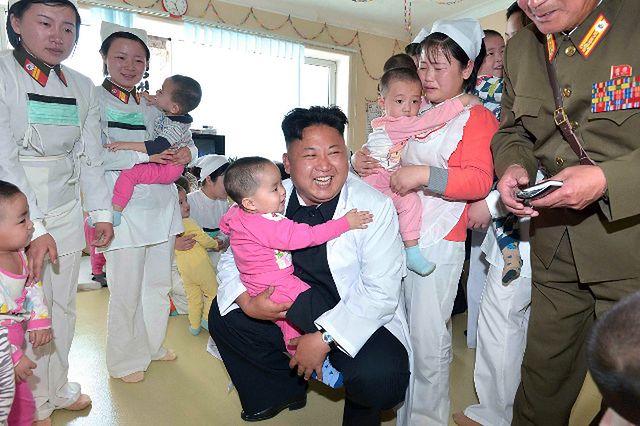 Przywódca Korei Płn. odwiedza szpital