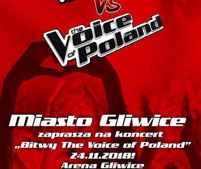 """Miasto Gliwice zaprasza na """"Bitwy The Voice of Poland""""! Już 24 listopada w Arena Gliwice!"""