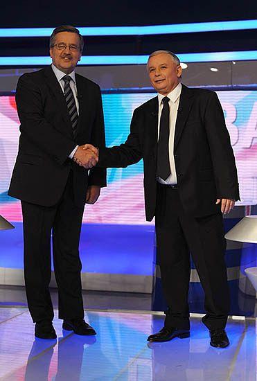 Kaczyński-Komorowski - ostatnie starcie telewizyjne