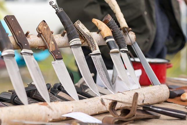 nóż myśliwski nóż roboczy noże polowanie