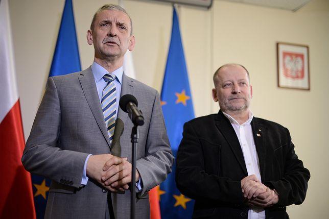 Sławomir Broniarz i Sławomir Wittkowicz