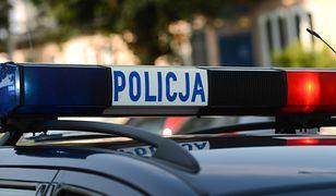 Policjant nie odniósł poważnych obrażeń