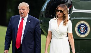 USA. Prezydent Donald Trump z żoną Melanią (zdj. arch.)