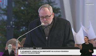 """Piotr Adamowicz przypomina atak na brata: """"Uznano, że sprawy nie ma"""""""