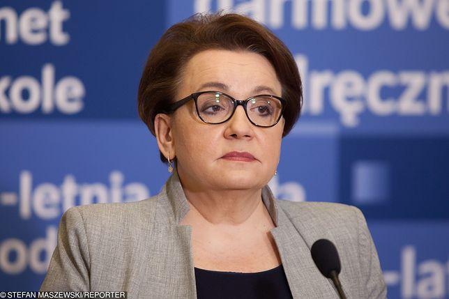 Maturzystka napisała do minister Edukacji Anny Zalewskiej