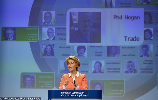 UE. Ursula von der Leyen podała listę kandydatów na komisarzy KE. Na liście jest Janusz Wojciechowski