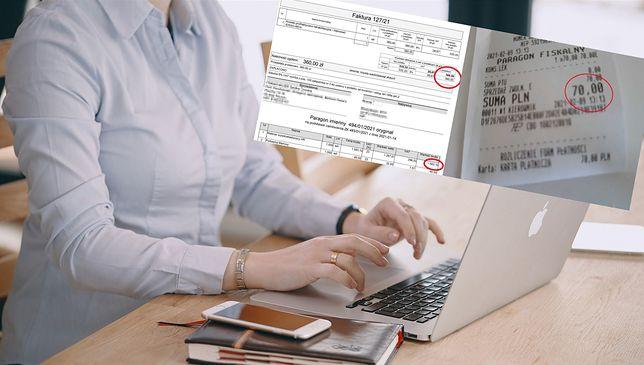 Pani Magda pokazała nam swoje rachunki, które, jak twierdzi, w jej wypadku wymusiła pandemia