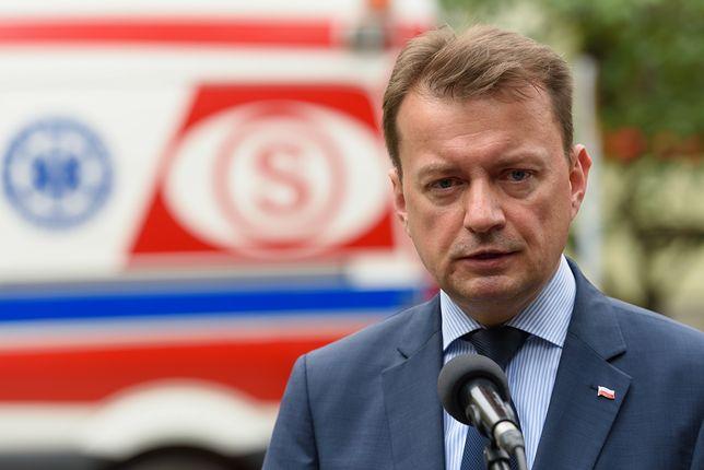 Szef MSWiA, Mariusz Błaszczak