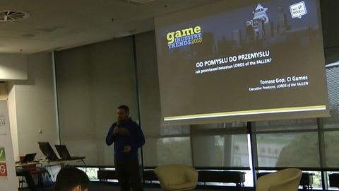 Tomek Gop z CI Games opowiada, jak powstawał zwiastun Lords of the Fallen