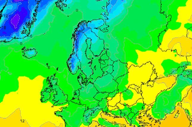 Prognoza pogody (noc z wtorku na środę)