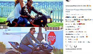 Tom Cruise jak wampir. Porównał zdjęcia z 1986 i 2018 – wcale się nie zestarzał