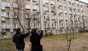 Ulica Działkowa, Piotrków Trybunalski. W tym bloku w 1988 roku Mariusz T. zamordował czterech chłopców