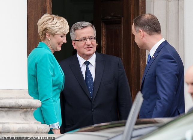 Pierwsza dama traci na wysokości emerytury. Bronisław Komorowski apeluje do zmiany