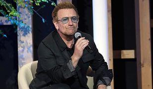 """Bono wspiera Lecha Wałęsę. """"To wielki człowiek. Życzę mu wszystkiego najlepszego"""""""