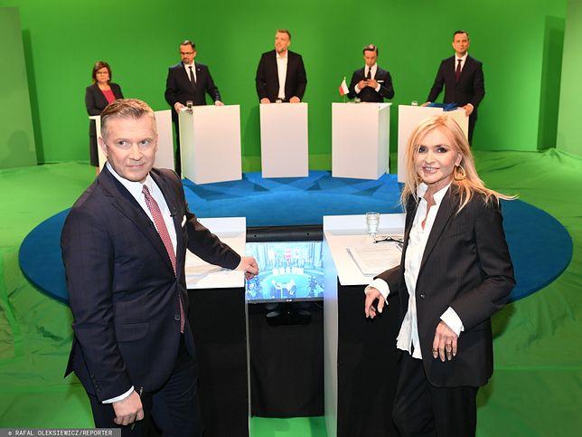 Wybory parlamentarna 2019. Debata w TVN.