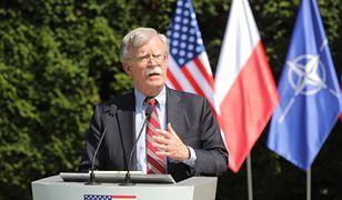 Były doradca Białego Domu ds. bezpieczeństwa narodowego John Bolton.