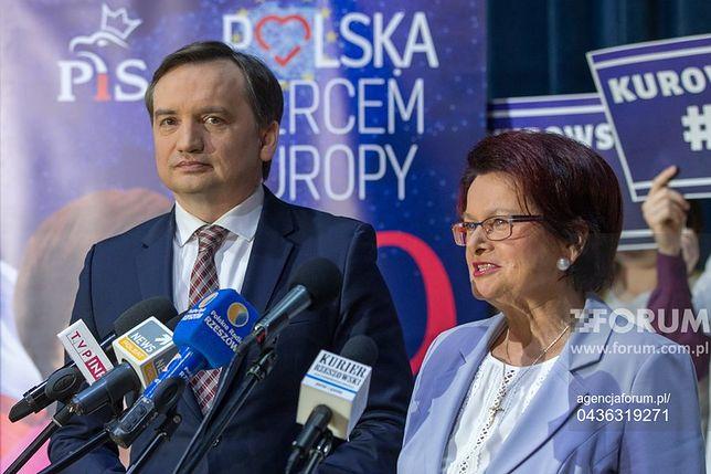 Maria Kurowska, wicemarszałek województwa podkarpackiego - tajna broń Ziobry.