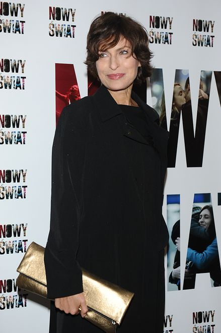 Aktorka stawia na czerń