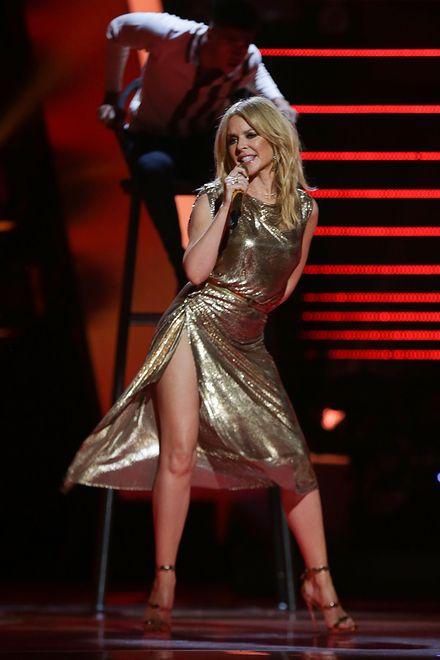 """Kylie Minogue wystąpiła w programie """"Voice of Kids"""""""