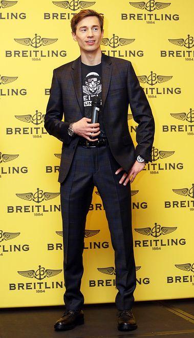 Kamil Stoch twarzą marki Breitling