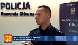 Przedstawiciel Komendy Głównej Policji w TVP przekonywał, że w Polsce nie dochodzi do gwałtów takich, jak ten w Rimini.