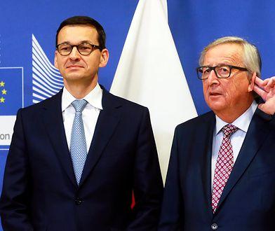 We wtorek premier Mateusz Morawiecki spotkał się w Brukseli z z szefem Komisji Europejskiej Jean-Claude Junckerem