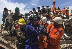 Kambodża. Kilkanaście ofiar po zawaleniu się 6-piętrowego budynku
