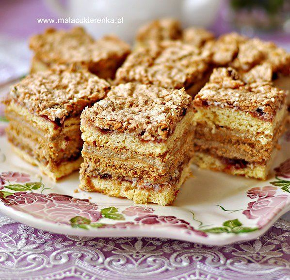 Ciasto Pani Walewska z bakaliami
