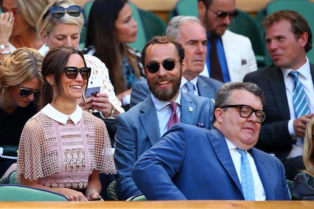 Pippa Middleton na Wimbledonie. Szykowna jak księżna