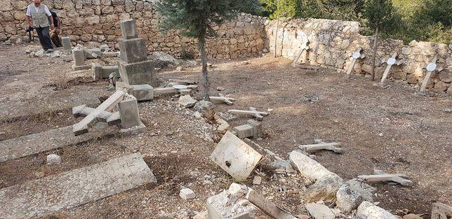 Izrael: Wandale zniszczyli cmentarz katolicki. Interwencja polskiego konsula