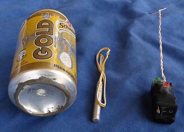 Tak miała wyglądać bomba, której użyto do zamachu na rosyjski samolot