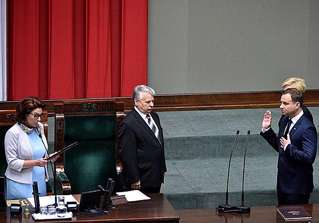 Zaprzysiężenie Andrzeja Dudy na prezydenta - zdjęcia