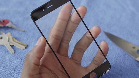 Niezwykle wytrzymałe szafirowe szkło nie nadaje się do ekranów smartfonów