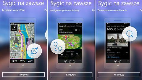 Sygic: kolejna nawigacja offline dostępna na Windows Phone