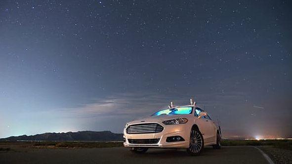 Autonomiczne samochody Forda dzięki lidarowi widzą także nocą