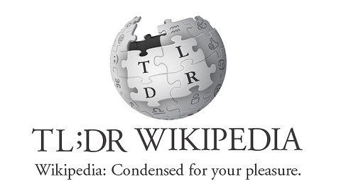Artykuł na Wikipedii jest za długi? Przeczytaj definicję na TL;DR Wikipedia