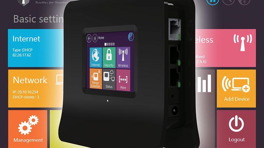 Securifi Almond — router, punkt dostępowy i rozszerzenie zasięgu sieci z ekranem dotykowym