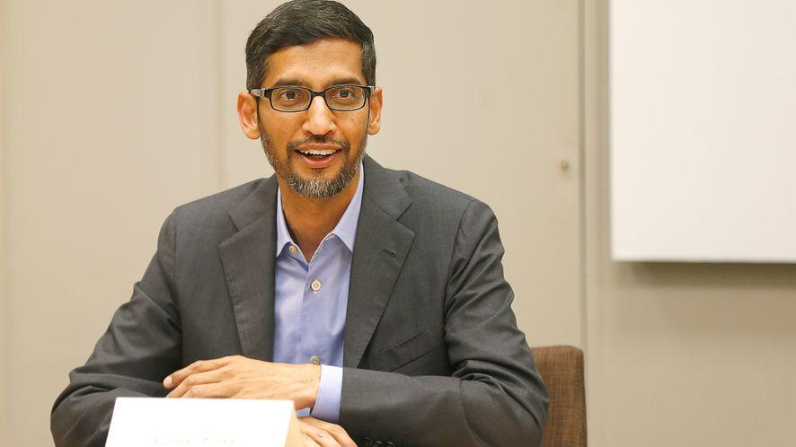 Sundar Pichai, szef Google'a.