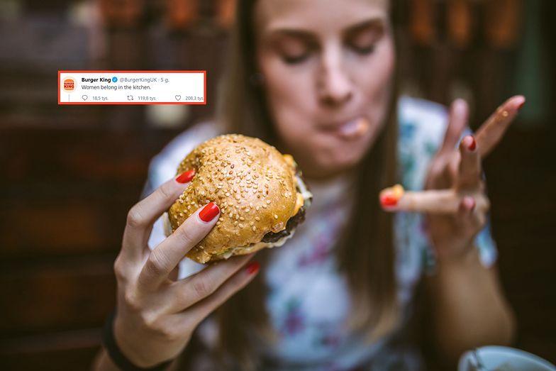 Burger King wywołał burzę w Dzień Kobiet. W internecie aż huczy