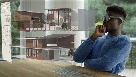 Samsung i okulary AR. Wyciekły filmiki z holograficznym sprzętem