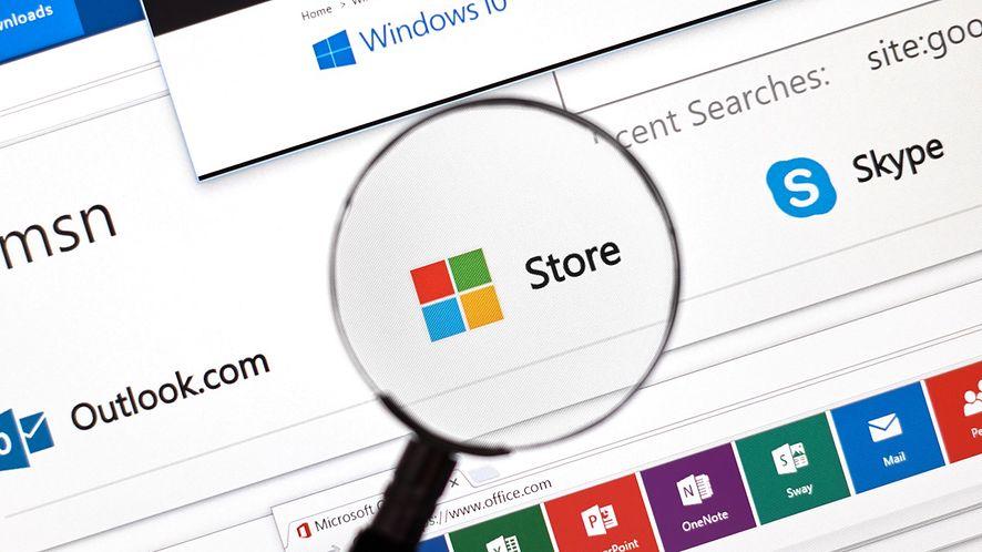 Ikona sklepu w Windows z depositphotos