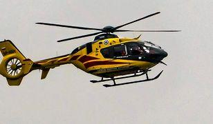 Ranna została przetransportowana do szpitala w Warszawie śmigłowcem LPR