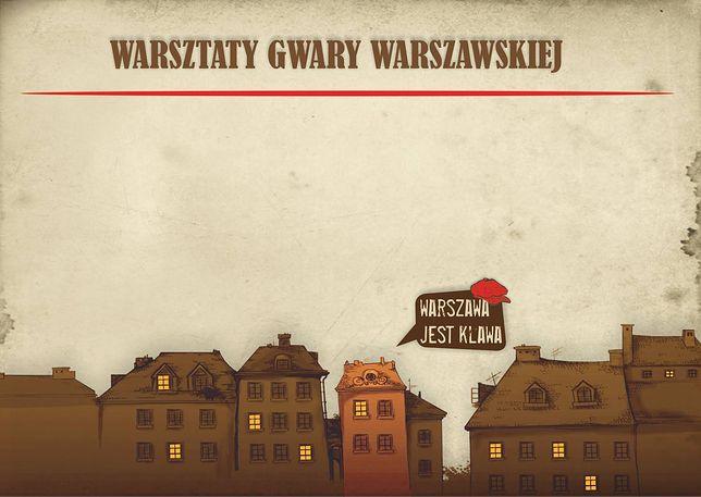 Za darmo: warsztaty z gwary warszawskiej