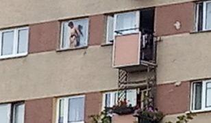 Warszawa. Chłopiec zamknięty na parapecie siódmego piętra
