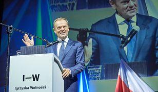 Donald Tusk na Igrzyskach Wolności w 2018 r.