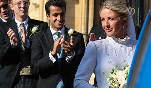 Ellie Goulding zmieniła suknię na weselu. Jest łudząco podobna do kreacji ślubnej Meghan Markle