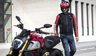 Ducati prezentuje nową kamizelkę z poduszką powietrzną dla motocyklistów