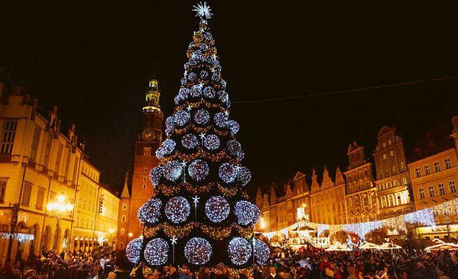 Święty Mikołaj na wrocławskim Rynku. Razem z prezydentem rozświetlą choinkę