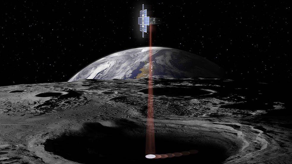NASA planuje znaleźć wodę na Księżycu. Użyje do tego laserów
