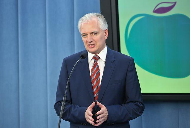 Jarosław Gowin jest liderem Polski Razem